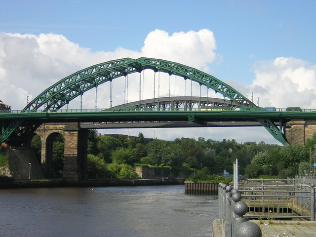 Wearmouth Bridge. © Copyright rob bishop and licensed for reuse under this Creative Commons Licence, via this geograph.org.uk page