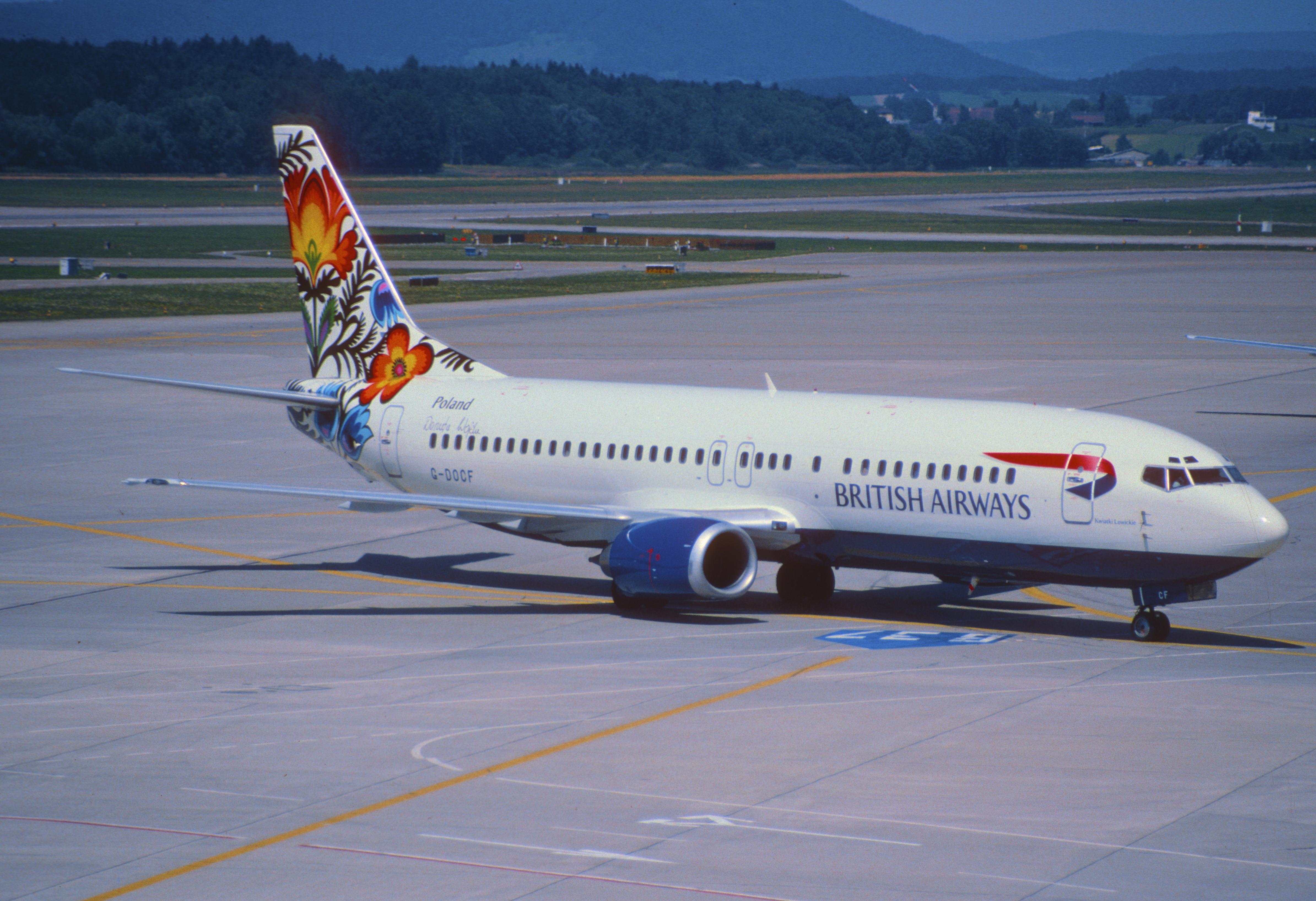 Britain in the World? No thanks (British Airways' 1997 corporate