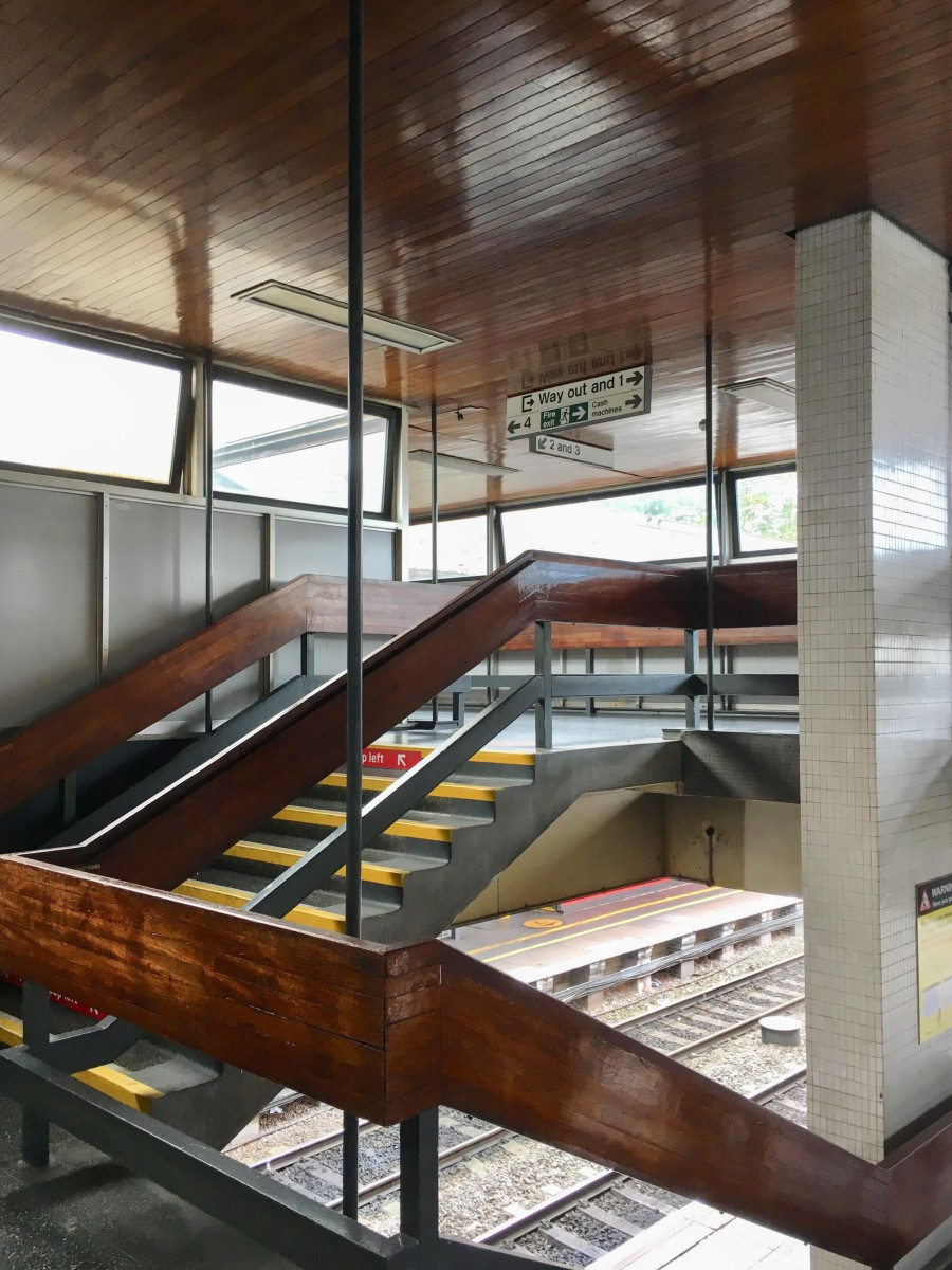 The Beauty of Transport: How my other half learned to love modern architecture